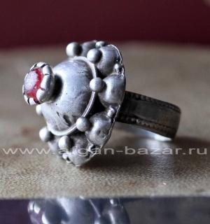 Старинное афганское племенное кольцо. Юго-восточный Афганистан (регион Газни), п