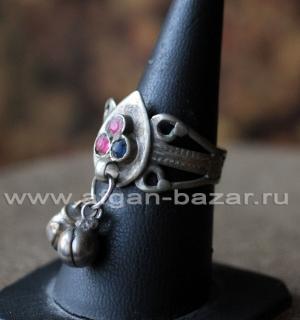 Афганский перстень с бубенчиками