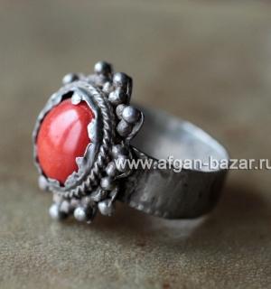Старое афганское кольцо. Афганистан, таджики, середина 20-го века