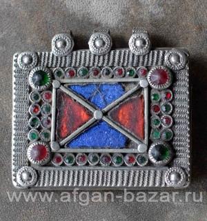 """Племенная подвеска-амулет """"Тавиз"""", часть колье или пояса"""