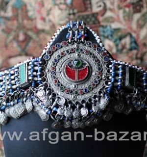 """Афганская налобная повязка """"Силсила"""" (Silsila). Пакистан или Кашмир, племена Куч"""