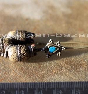 Старинная узбекская сережка без пары