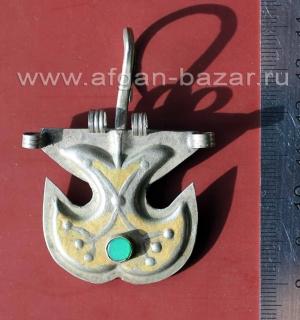 Туркменская подвеска - часть височного украшения
