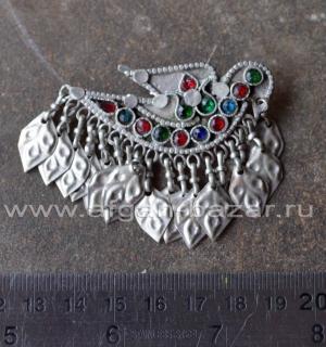 Заколка для волос в виде птицы - племенные украшения Кучи (Tribal Kuchi Jewelry)