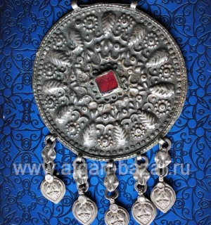 Старинная афганская подвеска - часть ожерелья