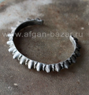 Старый афганский браслет. Афганистан или Пакистан, племена Кучи, 20-й век