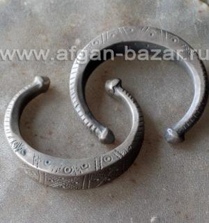 Традиционный афганский браслет на подростковую руку. Афганистан или Пакистан, на