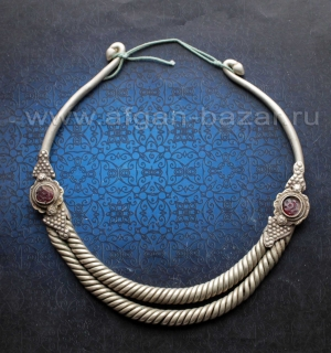 """Двухрядная гривна - """"Огай"""" или """"Гер"""" - традиционное украшение народов, населяющи"""