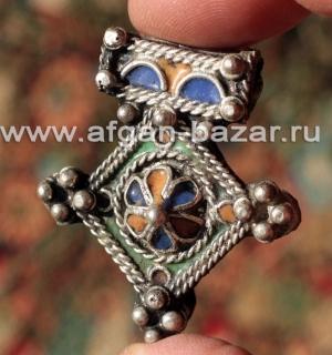 """Марокканская подвеска - амулет """"Богдад"""" (Boghdad) с перегородчатой эмалью - Moro"""