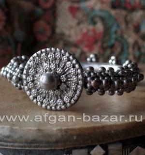 Бедуинский браслет на предплечье, северный Йемен или Саудовская Аравия, конец 20