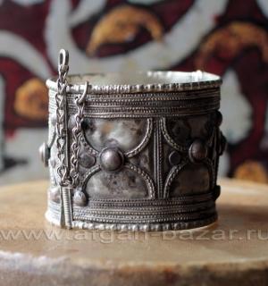Старый эфиопский браслет - коллекционный экземпляр. Эфиопия, середина - вторая п