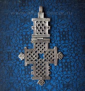 Эфиопский нательный крест. Эфиопия, современная работа