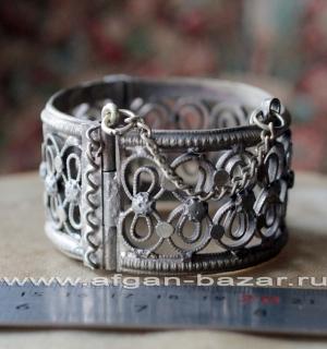 Кашмирский племенной браслет ручной работы, племенные украшения Кучи. Западный П