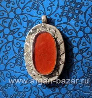 Кулон в казахском стиле. Афганистан, 20-й век - Pendant in traditional Kazakh St
