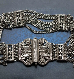 "Индийский пояс ""Камарбанд"" - Vintage Indian Kuchi Banjara Belt Kamarband"