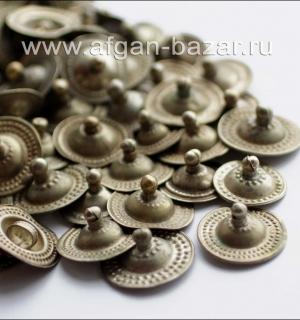 Этническая фурнитура для расшивки костюмов кучи кнопки