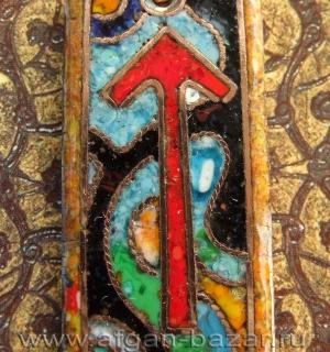 Огненные руны, перегородчатая эмаль, Александр Емельянов