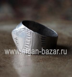 Старый берберский перстень. Марокко, берберы, 20-й век - Old Silver Moroccan Ber