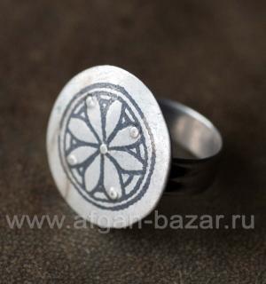 Берберский перстень-талисман. Марокко, берберы, 20-й век