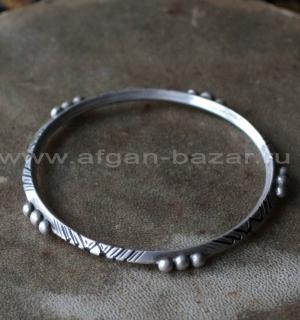 Старый берберский браслет.  Западная Сахара (Марокко или Мавритания), 20-й век