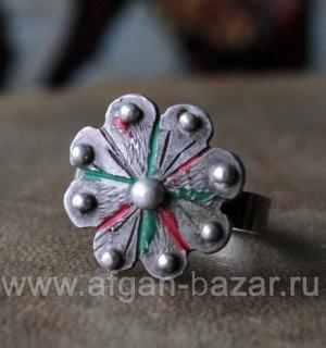 Берберский перстень-талисман. Юго-западная Сахара, Мавритания или Марокко, бербе