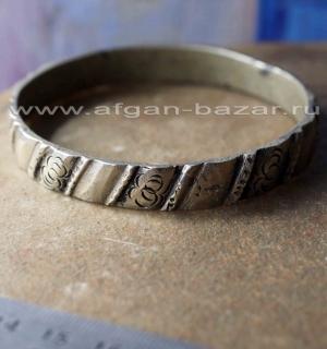 Старый берберский браслет . Марокко, Западная Сахара, регион Гулимин, берберы,
