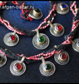 Этническая фурнитура для расшивки костюма Кучи монеты
