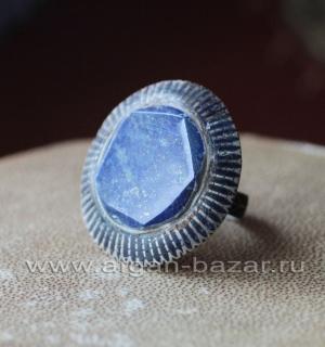 Традиционный мультанский перстень с эмалью и лазуритом
