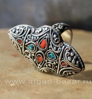 Непальский перстень в этническом стиле