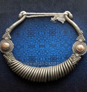 """Гривна """"Гер"""" - редкое племенное украшение. Нуристанцы или Калаши, 19-й - первая"""
