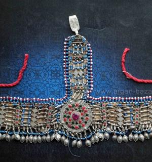"Афганская налобная повязка ""Силсила"" (Silsila) - Tribal Kuchi jewelry"