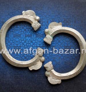 Пара массивных племенных браслетов. Восточный Пакистан (регион Синд), конец 20-г