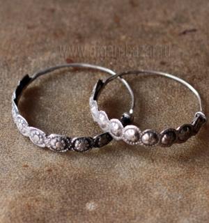 Кашмирские племенные серьги. Пакистан (Кашмир), племена Кучи (Kuchi jewelry), вт