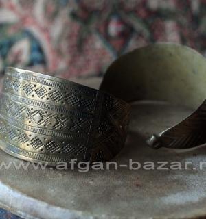 Традиционный афганский браслет. Афганистан или Пакистан, народность Пашаи, 20-й