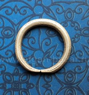 Африканский амулет в виде кольца. Мали, народность Фулани/Пеул (Fulani/Peul), 20