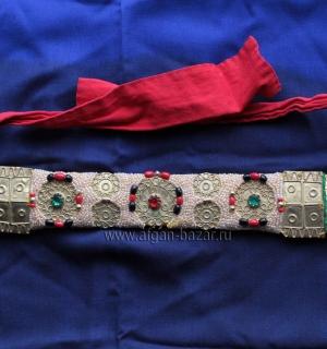 """Налобная повязка """"Фарк"""" (Farq), элемент свадебного костюма невесты. Тунис, регио"""