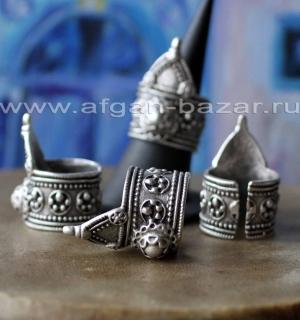 Турецкое кольцо в индийском стиле