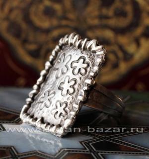 Кольцо с посеребрением, Турция
