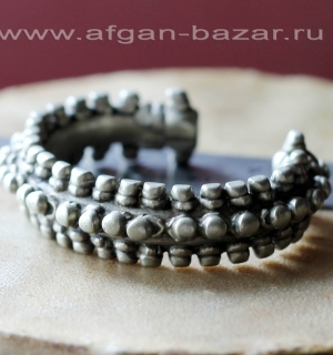 Старый бедуинский браслет. Йемен, 19-20 вв.