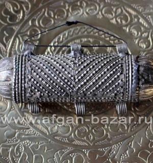 """Бедуинский амулет """"Хырз"""" (Hirz). Саудовская Аравия или Йемен, середина 20-го век"""