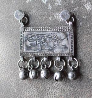 Старая египетская подвеска - амулет Зар, возможно часть серьги