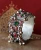 Афганский браслет с бубенчиками - племенные украшения Кучи