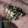 """Афганское """"коронное"""" кольцо.  Северный Афганистан, 20-й век, таджики (?)"""