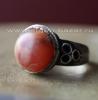 Старинное афганское племенное кольцо с сердоликом