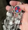 Афганская этническая подвеска-амулет (Kuchi Tribal jewelry)