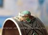 Старый марокканский браслет с горячей эмалью