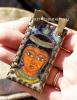 Александр Емельянов. Кулон в древнеегипетском стиле -  богиня Нут. Медь, горячая