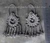Уникальные афганские серьги ручной работы