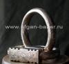 Пара традиционных серебряных тунисских ножных браслет Хал-Хал