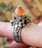 Старый бедуинский перстень с сердоликом. Йемен, 20-й век